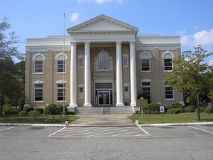 Dodge County Courthouse in Eastman