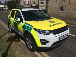 Land Rover Discovery Sport Duty Locality Officer & Rapid Response Vehicle