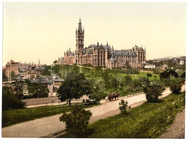 University of Glasgow in the 1890s