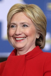 Hillary Clinton was the first woman to be nominated for president by a major party.