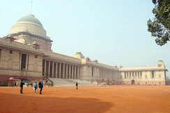 Rashtrapati Bhavan, the home of the President of India