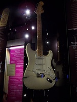 The Woodstock Stratocaster, played by Jimi Hendrix at Woodstock Festival