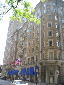 King Edward Hotel in Toronto, where the organization was first established
