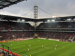 Leverkusen against rivals Köln in the Bundesliga in 2012