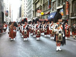Tartan Day parade in New York City
