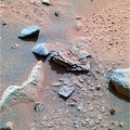 """Mimi"" rock on Mars – viewed by the Spirit Rover."