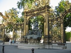 Place Stanislas – Fountain of Neptune