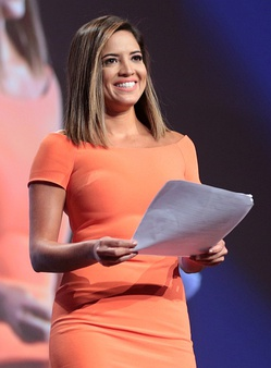 "Pamela Silva Conde six time Emmy award winning journalist and co-anchor of the Univision Network's weekday newsmagazine, ""Primer Impacto"" (First Impact) one of the highest rating programs in the United States and in 12 Latin-American countries."