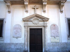 The Methodist chapel in Rome houses Italian and English-speaking congregations.