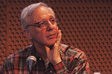 Christgau at the 2010 Pop Conference in Seattle