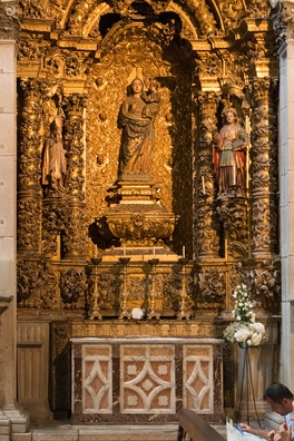 Altar of Our Lady of Silva, Porto