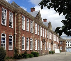 The Main Grade II listed building of Shrewsbury Sixth Form College, which was constructed circa 1910.