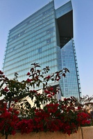 The headquarters of Maroc Telecom