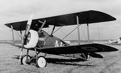 RAF Sopwith Camel. In April 1917, the average life expectancy of a British pilot on the Western Front was 93 flying hours.[261]