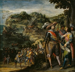 The Spanish capture of Saint Kitts in 1629 by Fadrique de Toledo, 1st Marquis of Villanueva de Valdueza