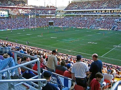 NRL game at Suncorp Stadium