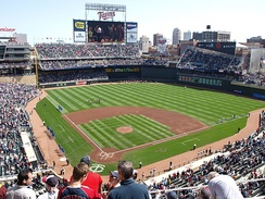 Target Field celebrated the return of outdoor Major League Baseball to Minnesota for the first time since September 30, 1981.