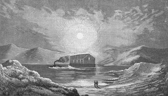 A floating iron church in the Scottish Highlands (1840s)