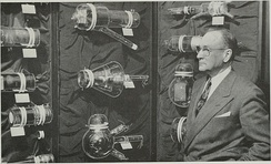 Zworykin and some of the historic camera tubes he developed