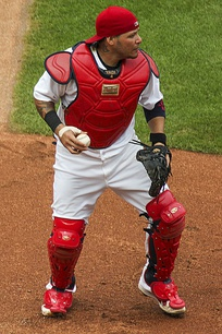 Yadier Molina has won the most Platinum Glove Awards of any player.