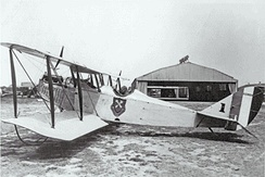 106th Observation Squadron Curtiss JN-6H, about 1922