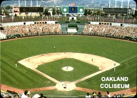 Oakland–Alameda County Coliseum, opened in 1966, was built in part to lure the Athletics from Kansas City.