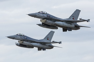 Portuguese Air Force's F-16 fighters.