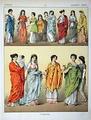 Платья древних римлянок.