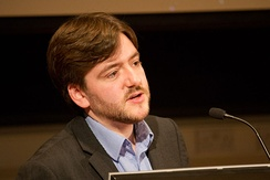 Current IHEU President Andrew Copson.