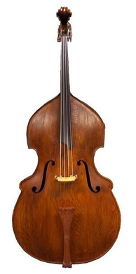 Example of a Busetto-shaped double bass: remake of a Matthias Klotz (1700) by Rumano Solano