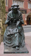 The Leicester Seamstress by James Walter Butler (1990)Leicester, Hotel Street