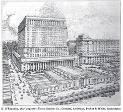 Planned appearance of the second Union Station