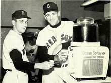 Chuck Schilling & Bob Tillman of Boston Red Sox.jpg