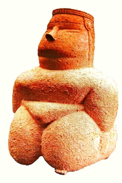 Mother Goddess from Cuccuru s'Arrius, Cabras