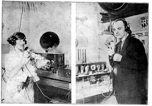 On June 29, 1922, a cooperative radio wedding had the groom at WRR, the bride at WDAO, and the minister at WFAA.[21]