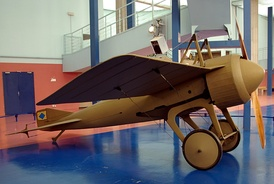 Deperdussin Monocoque, with wooden shell construction