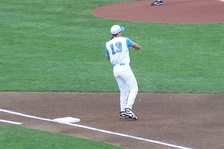 Ackley at the 2009 College World Series