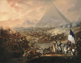 Battle of the Pyramids, Francois-Louis-Joseph Watteau, 1798–1799