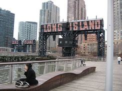 Long Island City is a neighborhood in western Queens.
