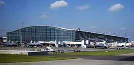 Heathrow Terminal 5 building. London Heathrow Airport is one of the busiest airports by international passenger traffic worldwide[304][305]