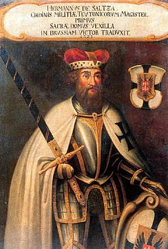Hermann von Salza, the fourth Grand Master of the Teutonic Knights (1209–1239)
