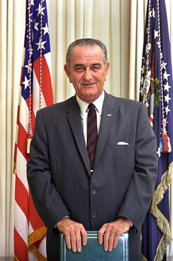 Lyndon B. Johnson, Texan and 36th president of the United States