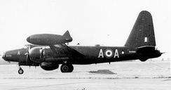 A Neptune MR.1 of 217 Sqn Coastal Command RAF in 1953