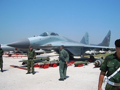 MiG-29 of the Serbian Air Force and Air Defence