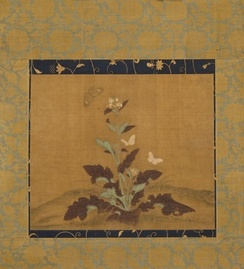 Mustard Plant and Butterflies, early or middle Ming dynasty c. 1368–1550 (LACMA)
