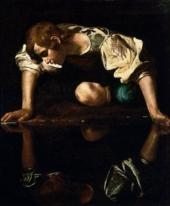 Rhinoplasty: the SIMON patient, Narcissus (1599), by Caravaggio (Michelangelo Merisi).