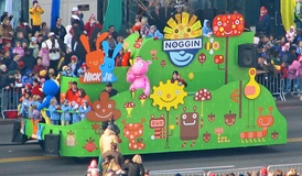 Noggin's float at America's Thanksgiving Parade in 2005.