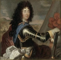 Philippe de France, duc d'Orléans the younger brother of Louis XIV.