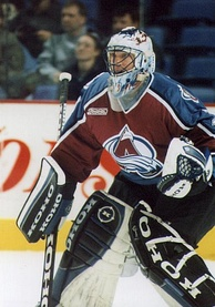 Patrick Roy played for the Avalanche from 1995 to 2003.