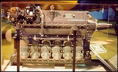 Ranger L-440 air-cooled, six-cylinder, inverted, in-line engine used in Fairchild PT-19